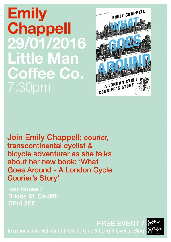 Emily Chappell What Goes Around At Little Man Coffee Co