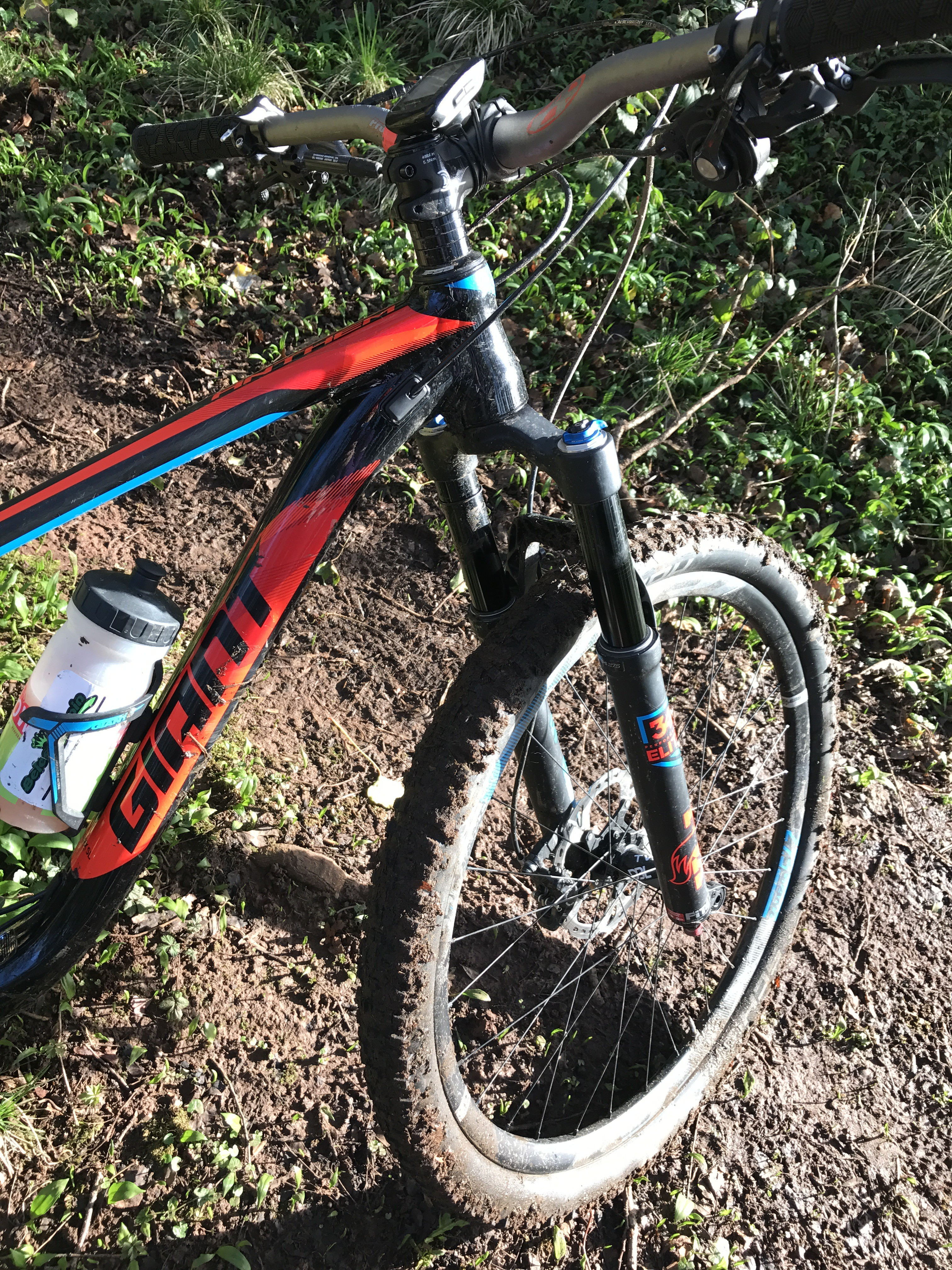 Cardiff Cyclist Giant anthem 1 review Cyclopaedia