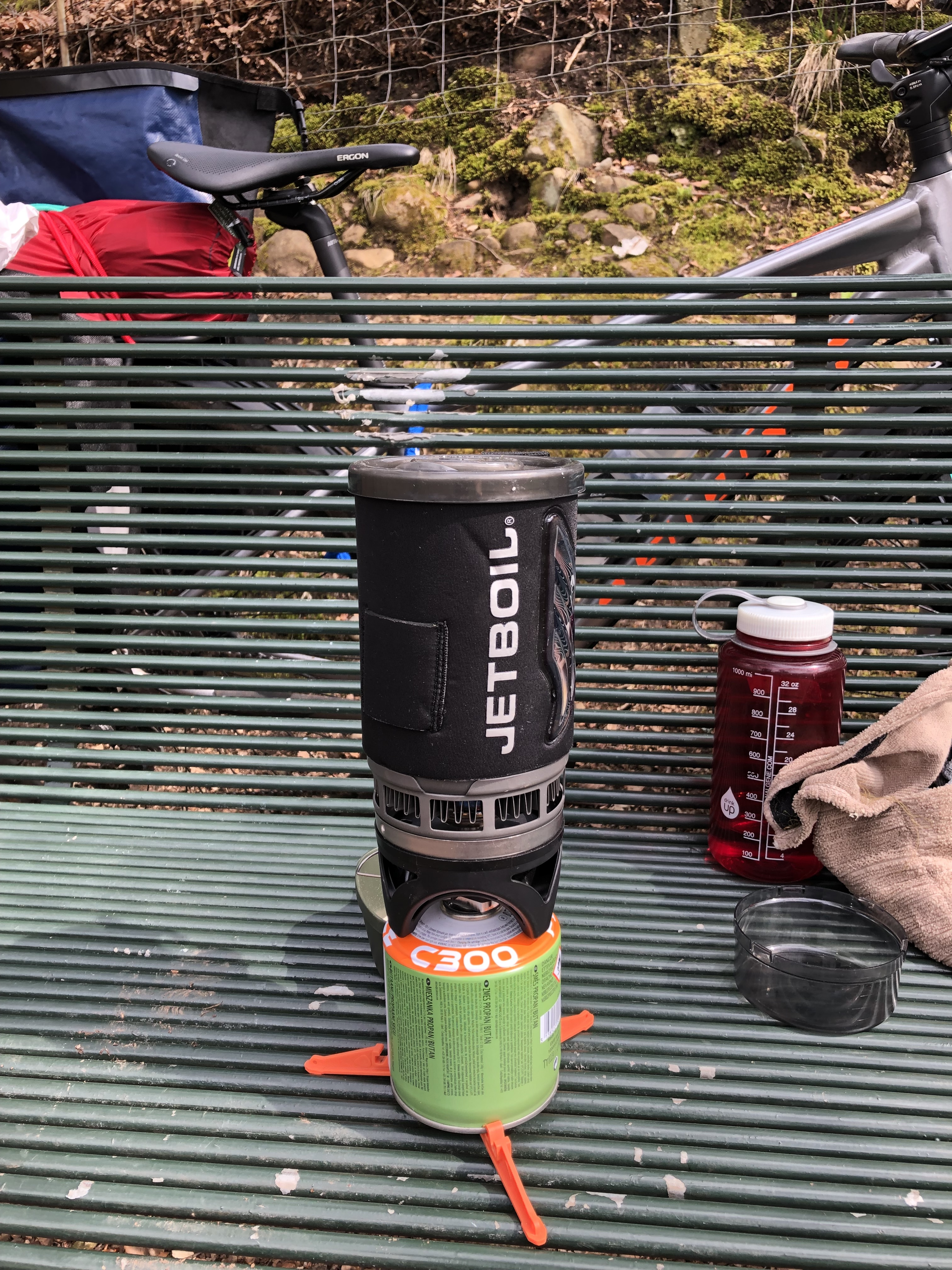 Jet boil cycle touring brecon cardiff giant toughroad